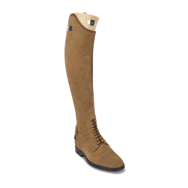 Leonardo, show jumping boots in suede, vista 3