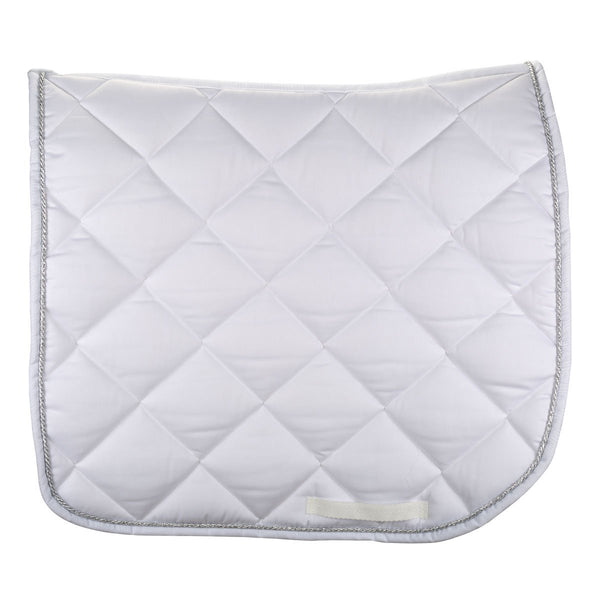 SADDLE PAD<br>White saddle pad