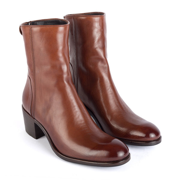 MAYA 31019<br>Brown ankle boots