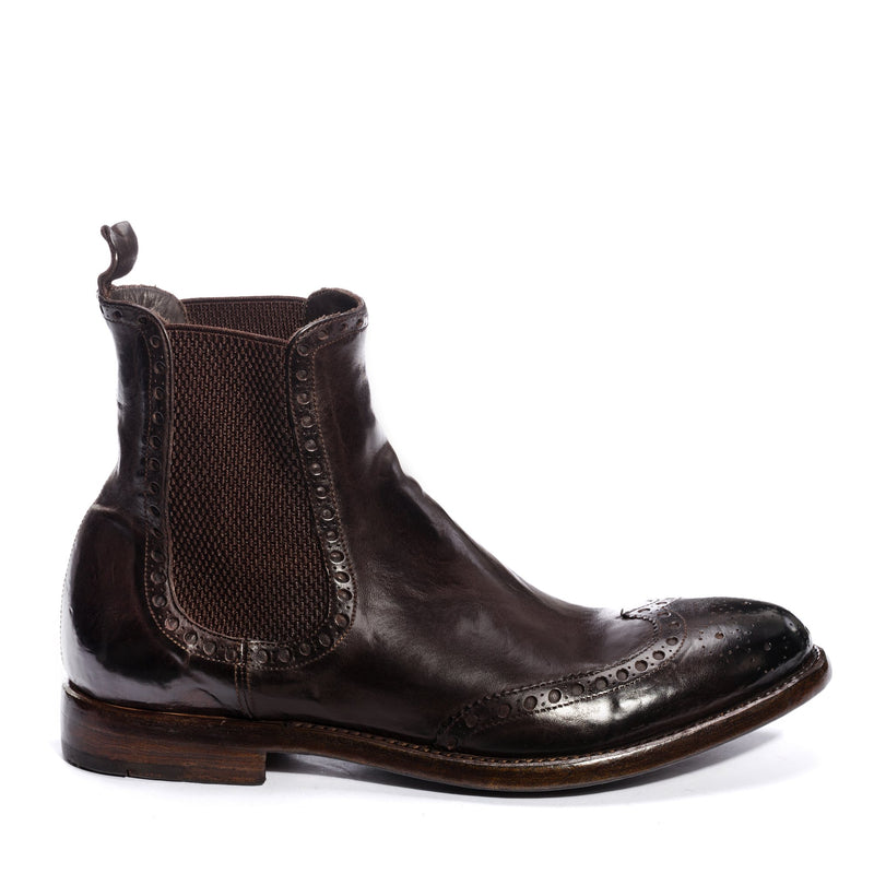 MORRIS 30011, Chelsea boots washed and dyed buffalo leather , vista 1