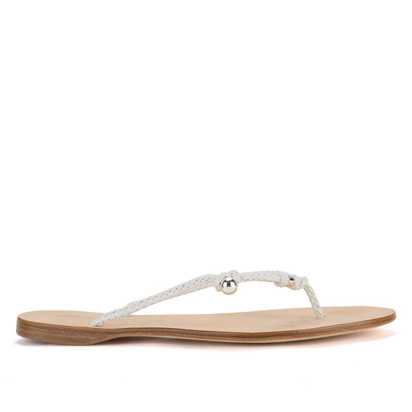 NICOLE 33045<br>White Sandals
