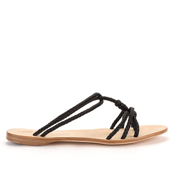 NICOLE 33049<br>Black Sandals