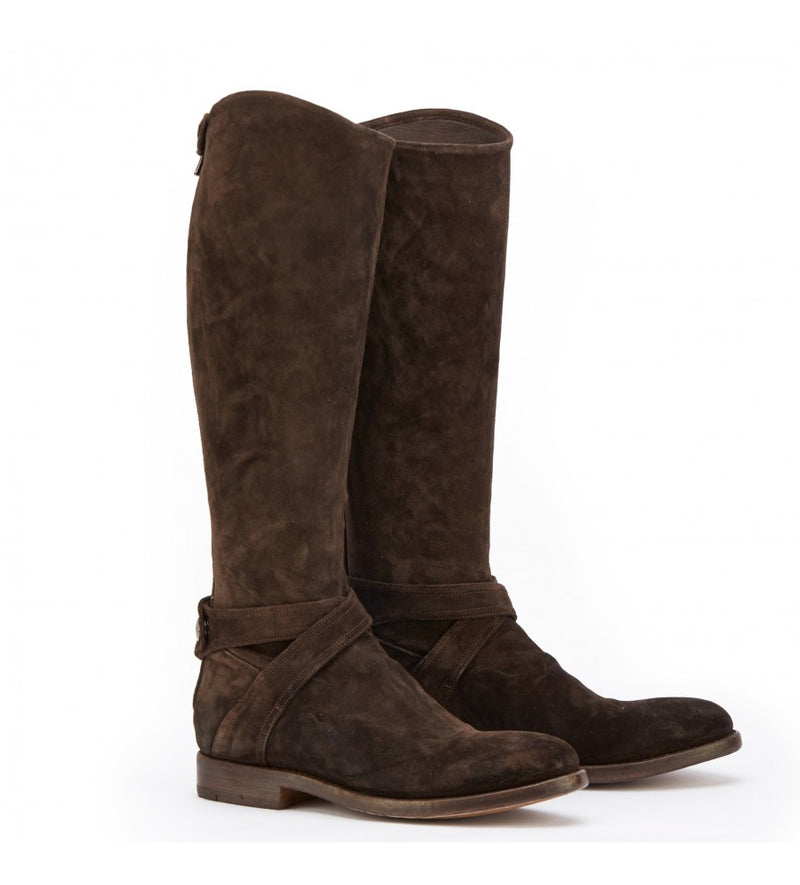 OXANA 31033 <br> Brown long boots