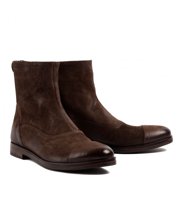 QUINCY 10000, Suede Ankle boots, vista 2