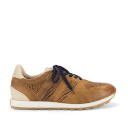 SPORT 50000<br>Brown ochre sneakers