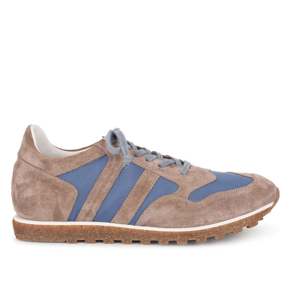 SPORT 6500<br> Taupe & light blue Sneakers