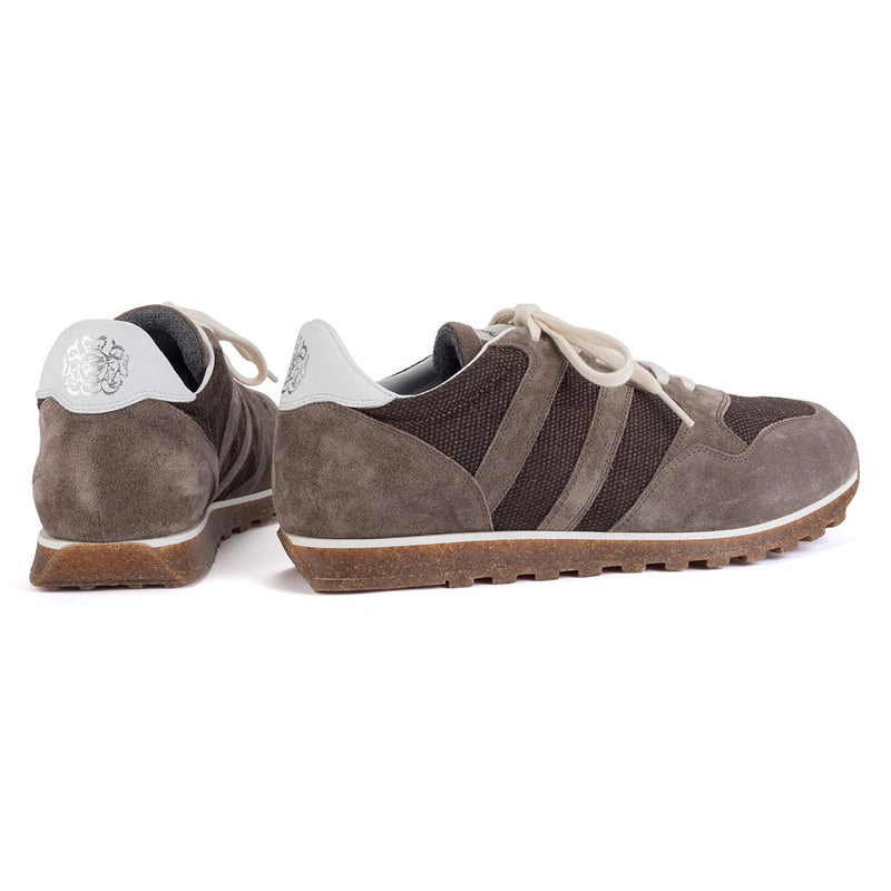 SPORT 34060<br> Taupe & Brown Sneakers