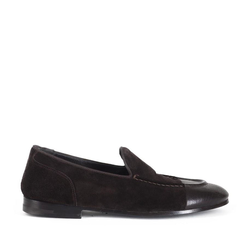 TESSA 45028<br>Dark brown loafers