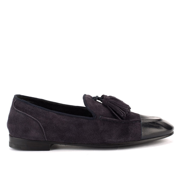 TESSA 45029 <br>Navy blue loafer