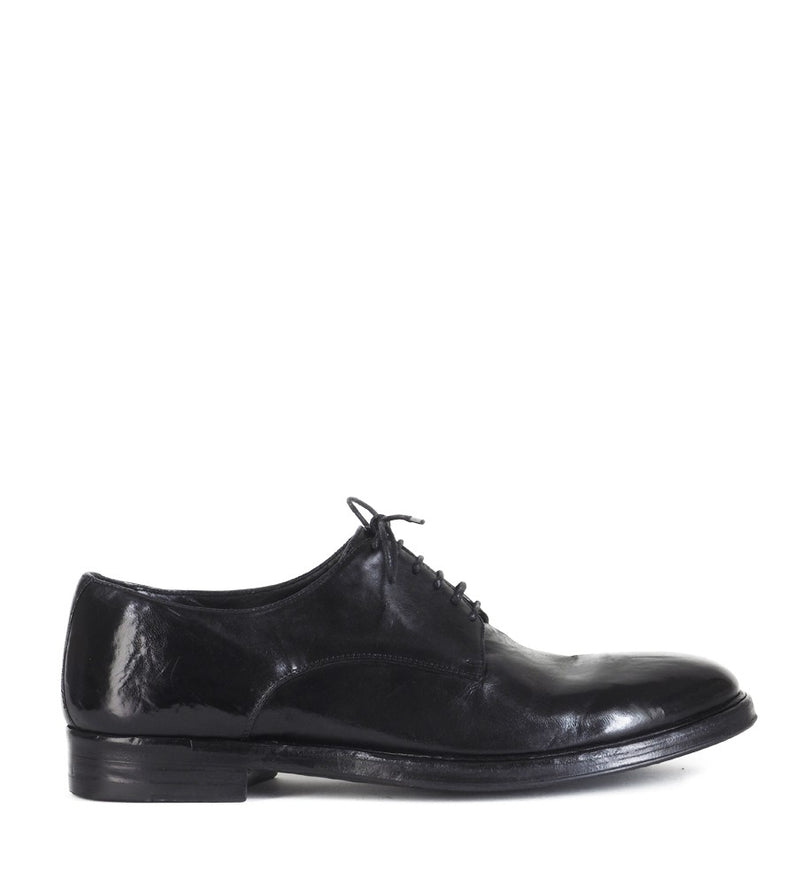 ULISSE 34036<br>Black derby shoes