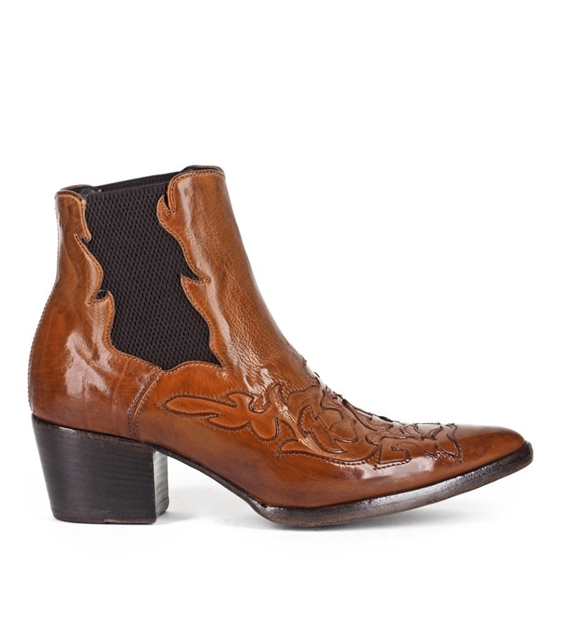 URSULA 46036, Texan inspired Ankle boots, vista 1