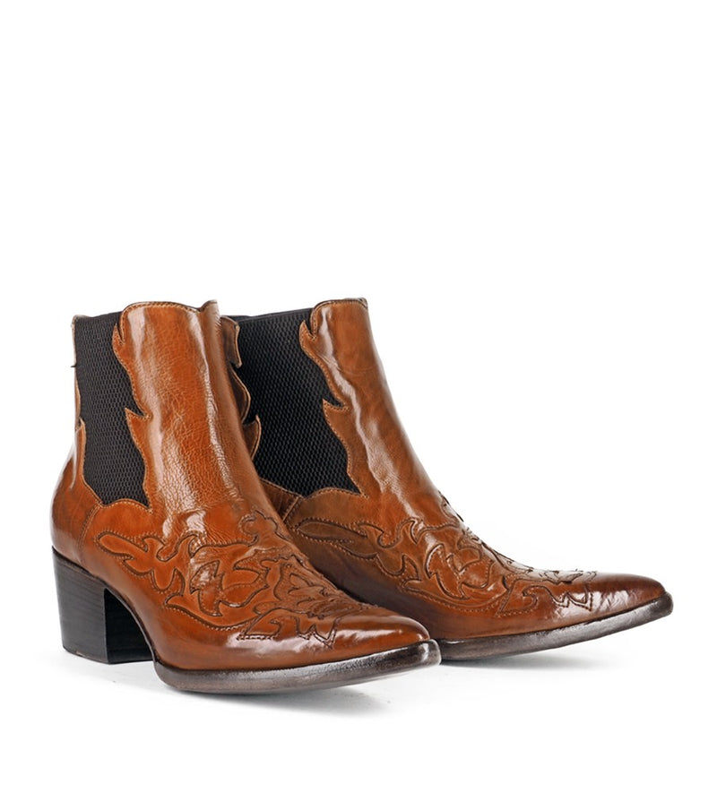 URSULA 46036, Texan inspired Ankle boots, vista 2