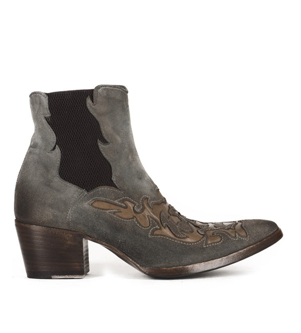 VENERE 46036, Texan inspired Ankle boots, vista 3