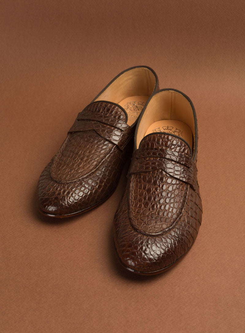 VENERE 48037<br>Croco loafers