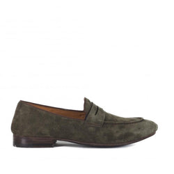 VENERE 48037<br>Army green loafers