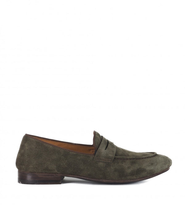 VENERE 48037, Grey suede loafer, vista 1