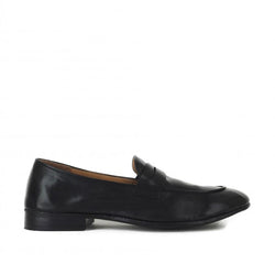 VENERE 48038<br>Black penny loafers