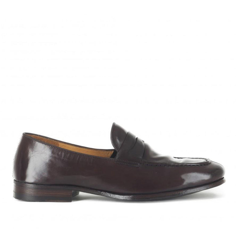 VULCANO 49002<br>Dark brown loafers