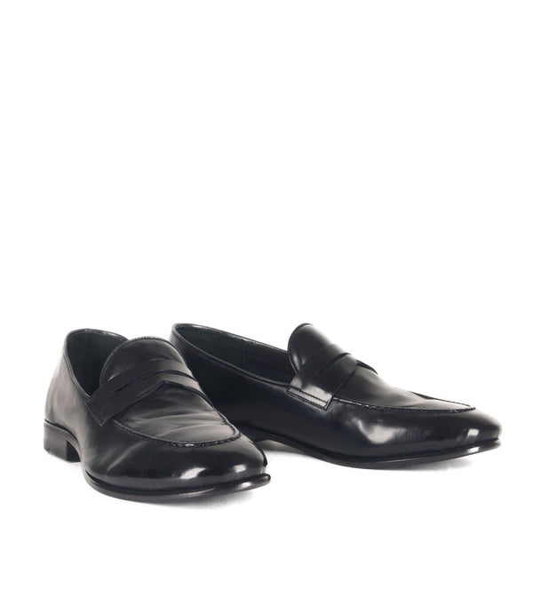 VULCANO 49002, Black loafer, vista 2