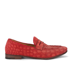 VULCANO 49015<br>Red penny loafer