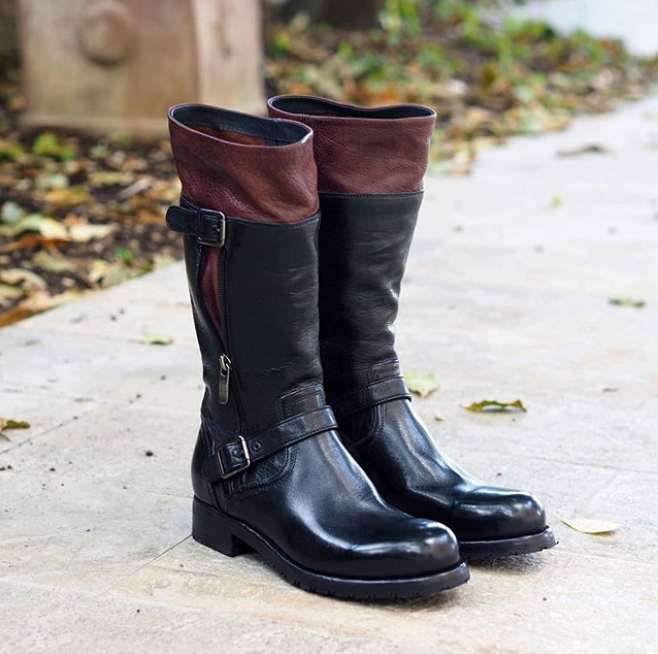 WINDY 50008<br>Black biker boots
