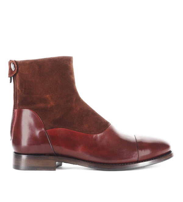 WOLF 10000<br>Burgundy ankle boots