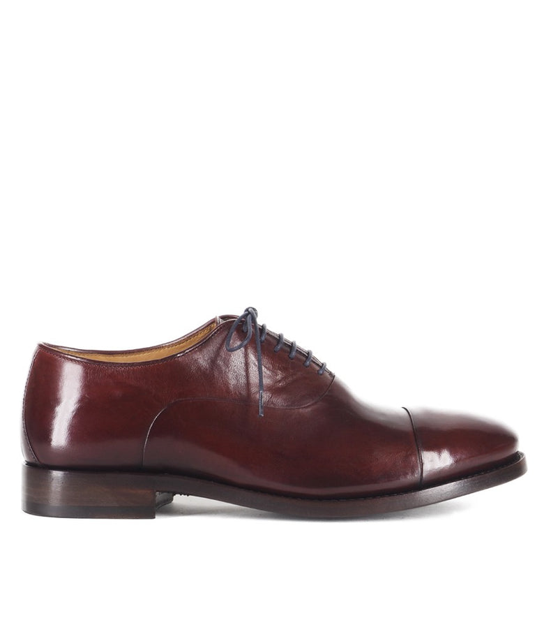WOLF 47000, BURGUNDY OXFORD SHOES, vista 1