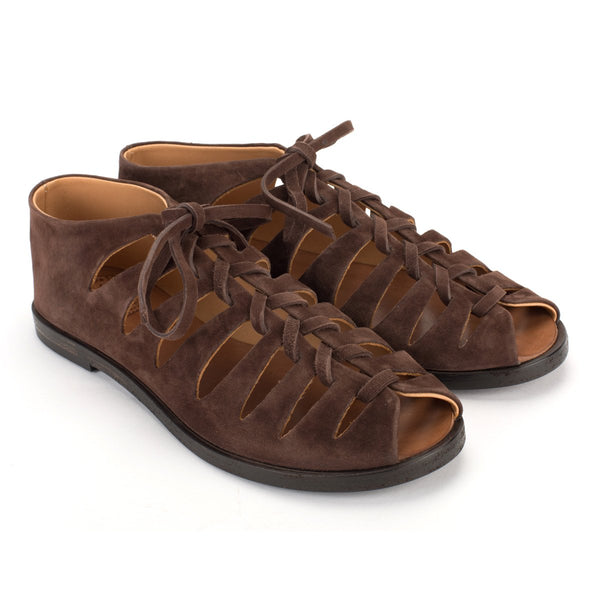 XENIA 45013 <br>Brown slave sandals