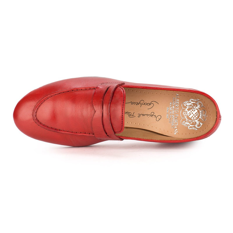XENIA 48037<br>Red Penny loafers