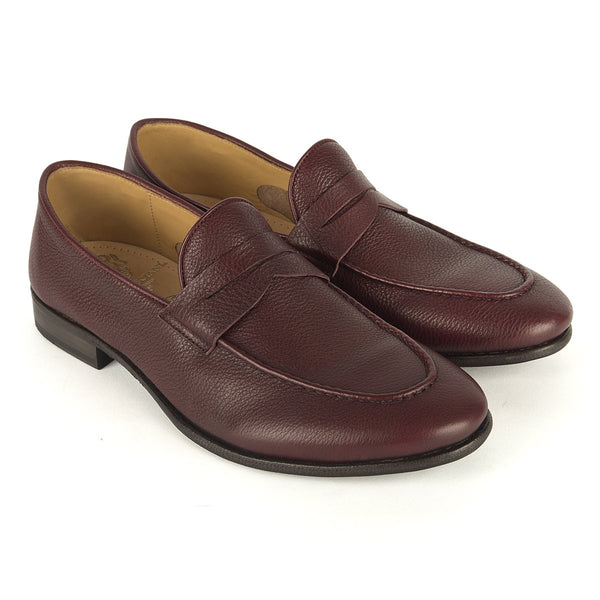 XAVIER 53011<br>Burgundy loafer