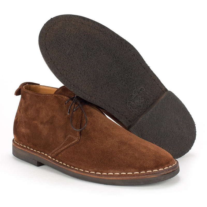 YAGO-348<br>Brown chukka boots