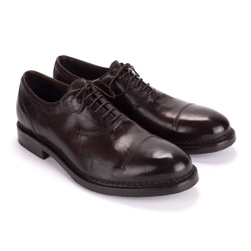 YAGO 55017<br>Dark brown oxford shoes