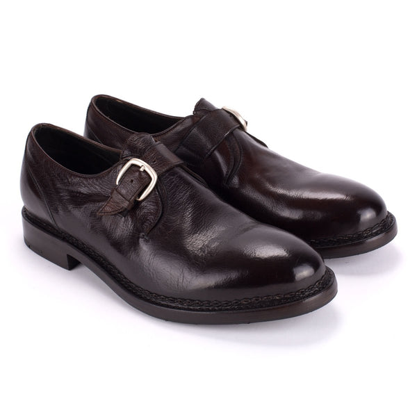 YAGO 55018<br>Brown Monk Strap shoes