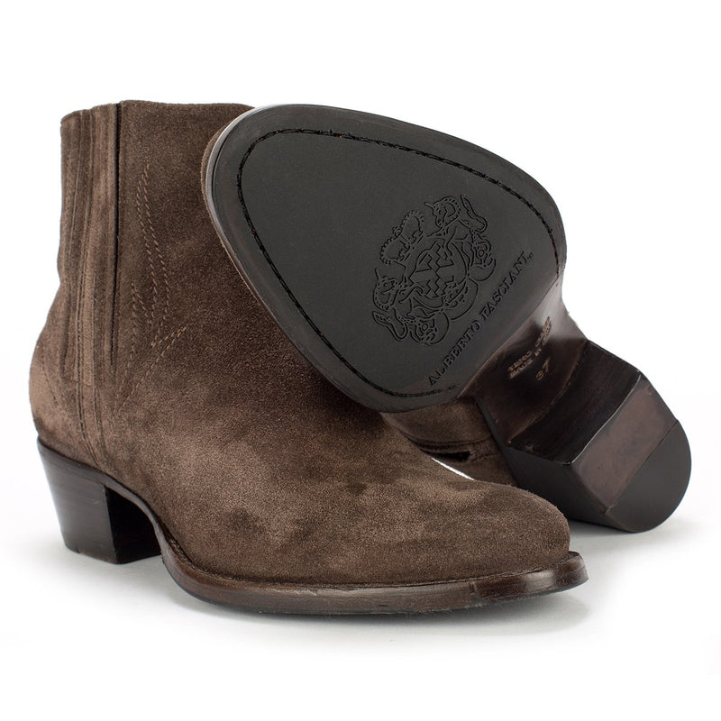 YARA 54004 <br> Brown ankle boots
