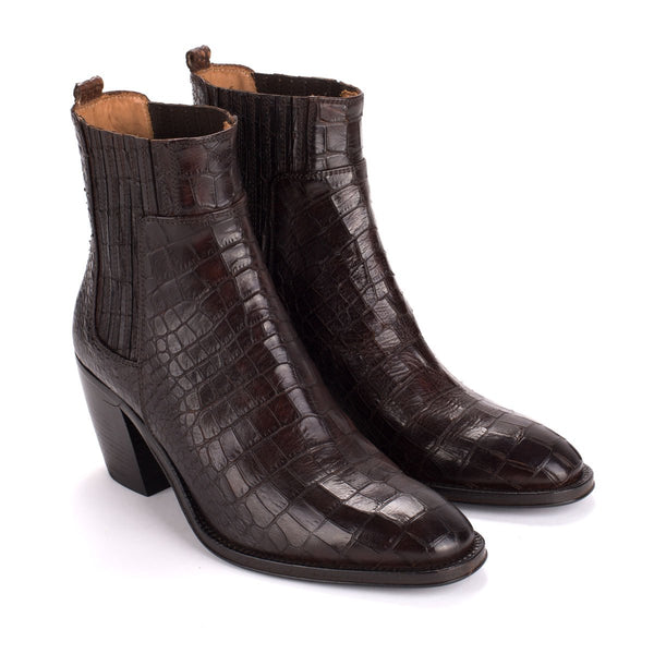 YARA 54027<br>Dark brown ankle boots