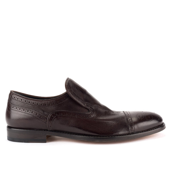 ZEN 328<br>  Dark brown slip-on