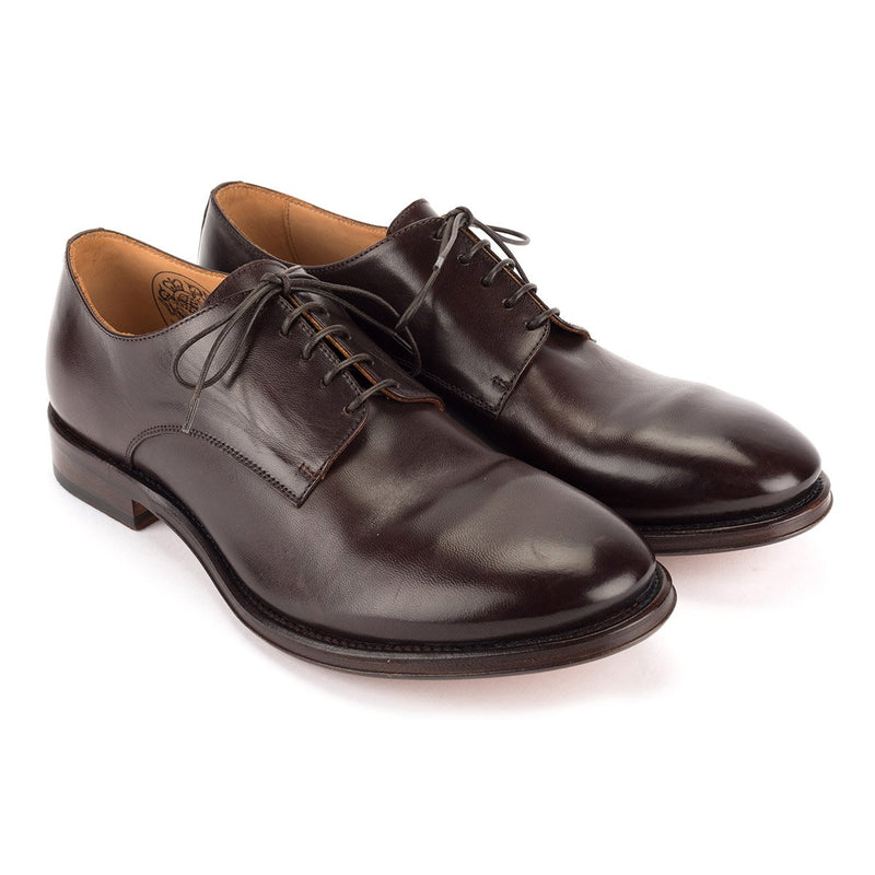 ZEN 57024<br>Brown horse leather Derby shoes