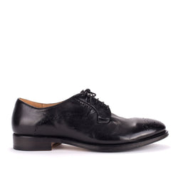 ZEN 57025<br>Black derby brogue