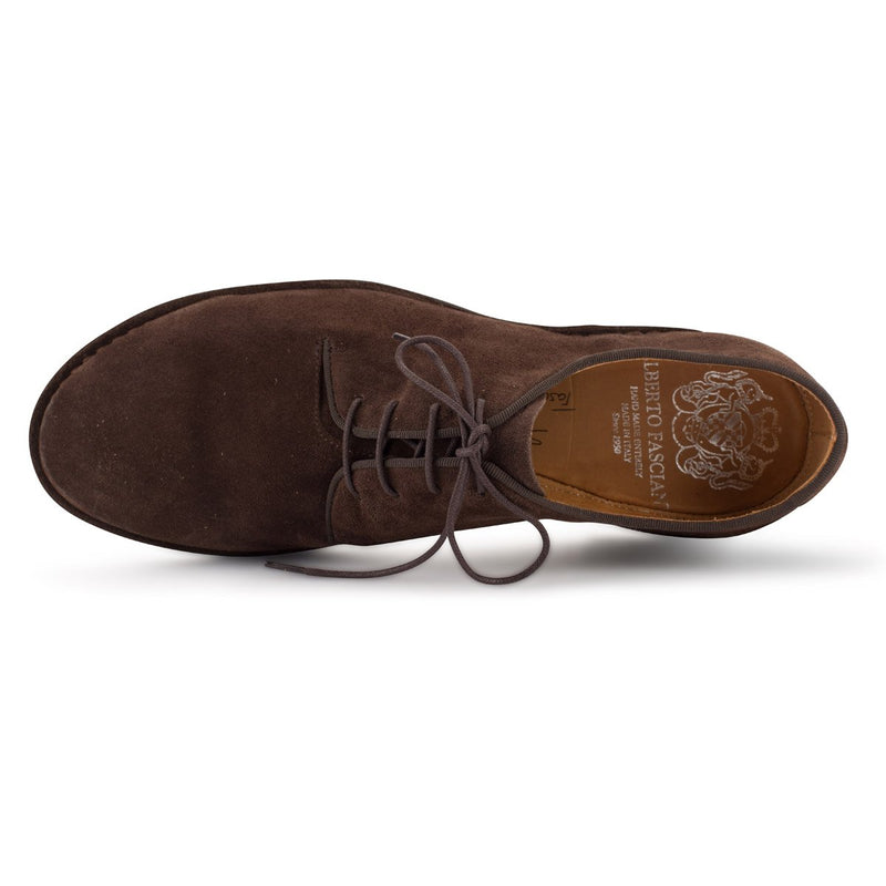 ZEN 57038<br>Brown derby shoes