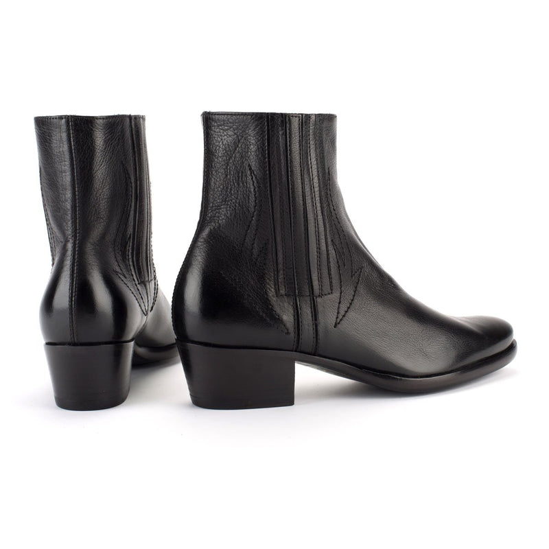 ZOE 56008<br>Black ankle boots
