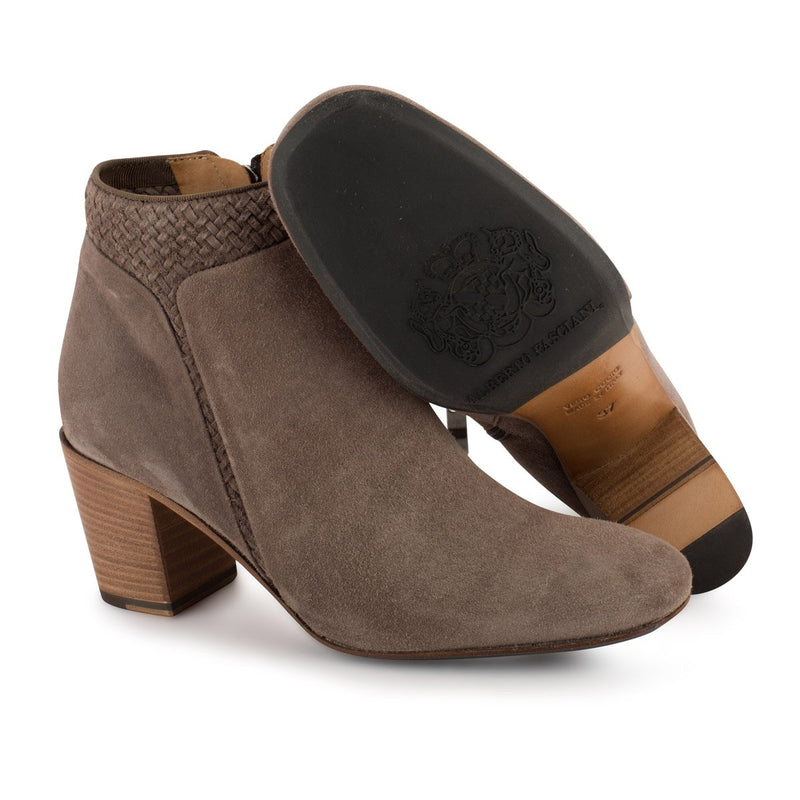 ZOE 56016<br>Grey ankle boots