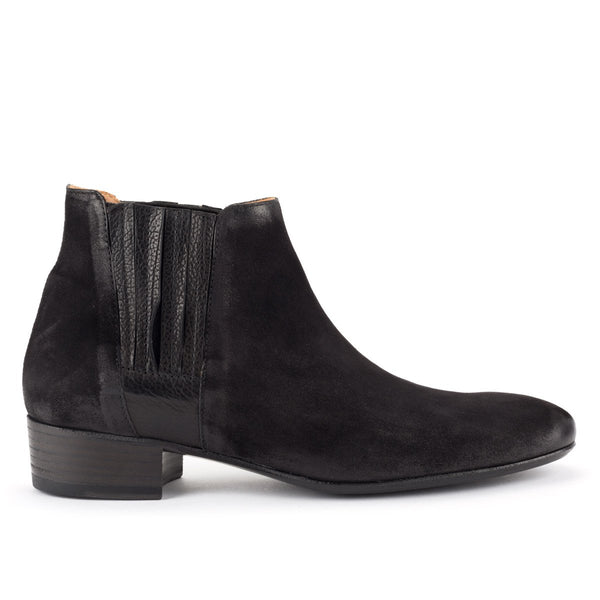 ZOE 56025<br>Black ankle boots