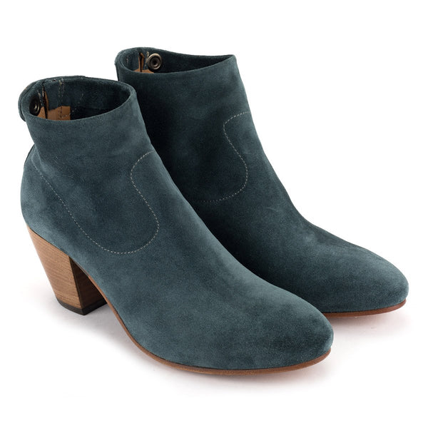 ZOE 56039<br>Blue ankle boots