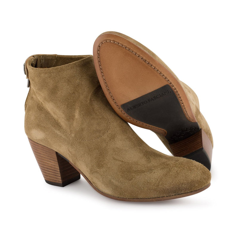 ZOE 56039<br>Brown ankle boots