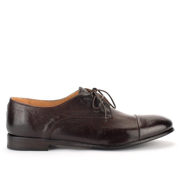 ZOE 56042<br> Brown derby shoes
