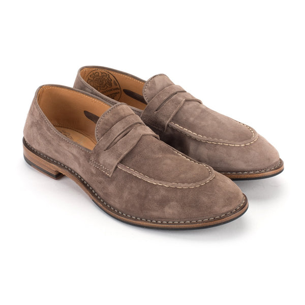 ZOE 56047<br> Light grey loafers