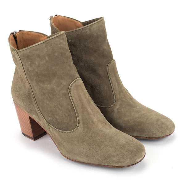 ZOE 56065<br>Army green ankle boots