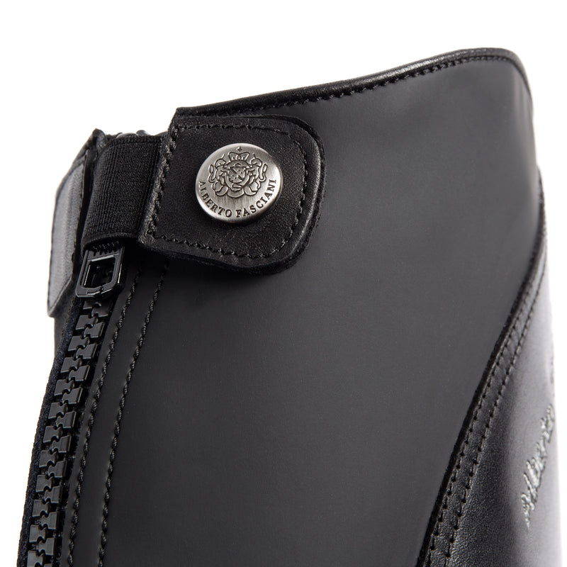 chaps 073, Chaps in black calfskin, vista 3
