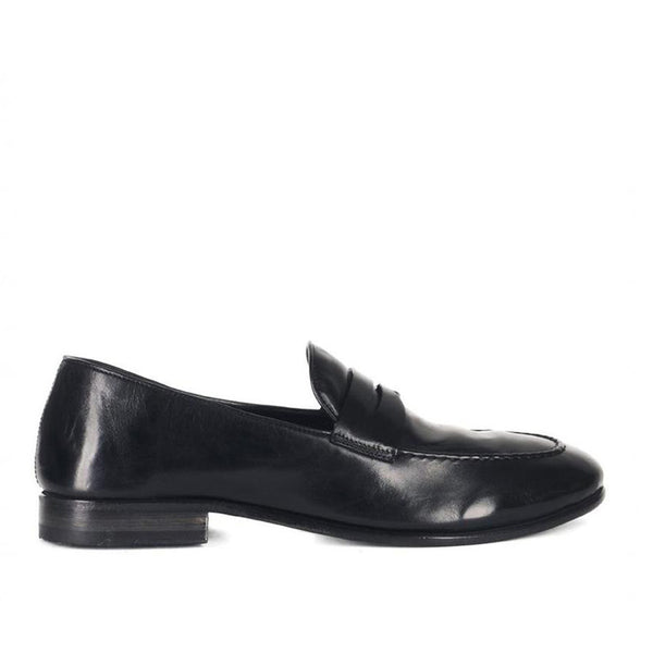VULCANO 49002<br>Black loafers