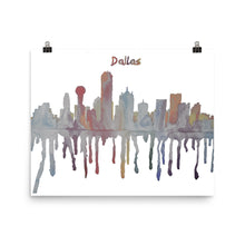 Load image into Gallery viewer, Dallas Texas Muted Color Poster